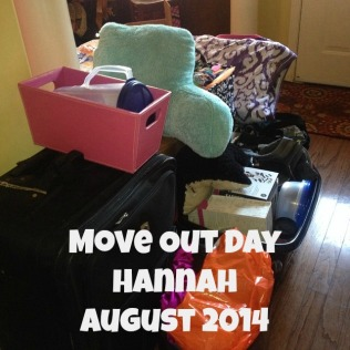 hannah move out day aug 2014